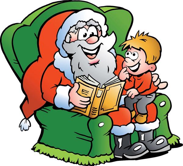 Weihnachtsmann Geschichte COLOURBOX4212326