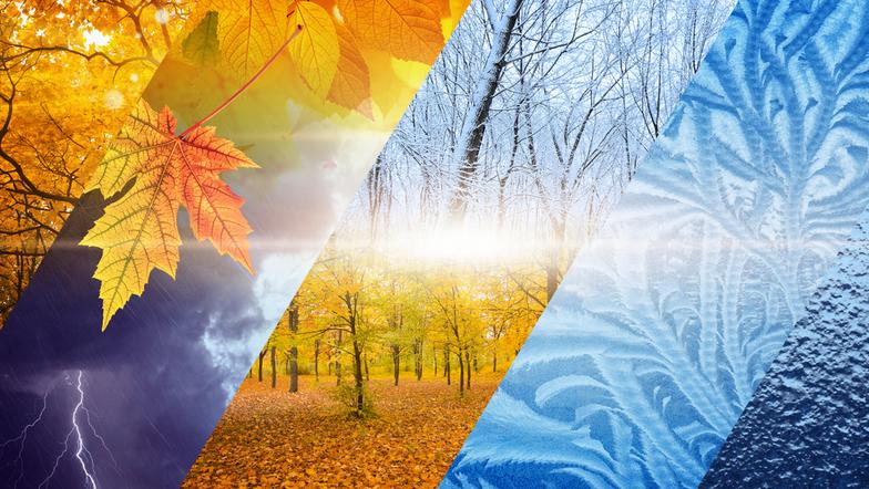 Das Wetter und die Jahreszeiten