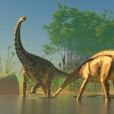 Im Land der Dinos