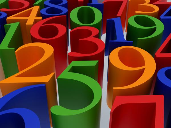 Zahlen1 aktivitet COLOURBOX3264139